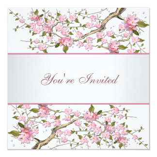 Cherry Blossom All Occasion Party Card