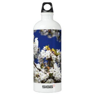 Cherry Blossom Aluminum Water Bottle