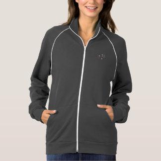 cherry blossom american apparel fleece track jacket