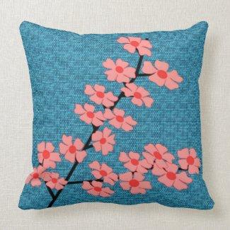 Cherry Blossom American Mojo Pillow