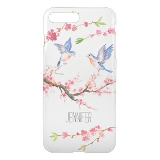 Cherry Blossom and Bird iPhone7 Case