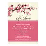 Cherry Blossom Baby Shower Invitation (pink)