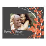 Cherry Blossom Bella Save the Date Photo Postcards