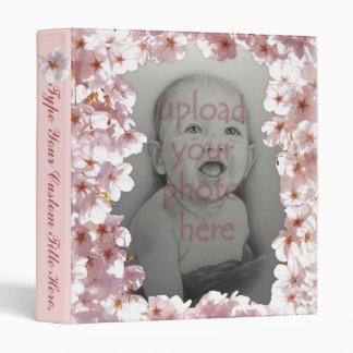 Cherry Blossom Binder Personalized Photo Album