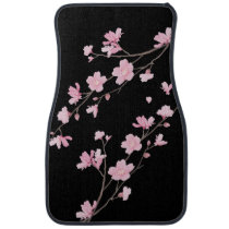 Cherry Blossom – Black Car Floor Mat
