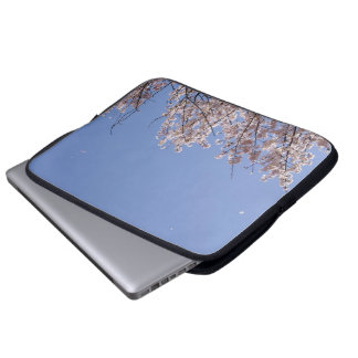 Cherry blossom blizzard (Hanafubuki) Laptop Computer Sleeves
