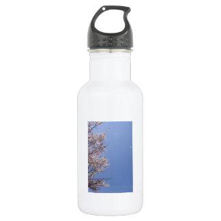 Cherry blossom blizzard (Hanafubuki) Water Bottle
