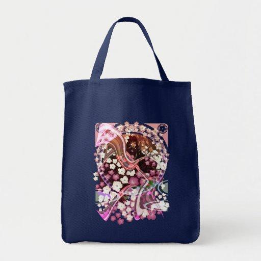 Cherry_Blossom Bolsa Tela Para La Compra