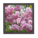 Cherry Blossom Branch Premium Keepsake Boxes