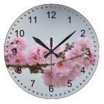 Cherry Blossom Branch Wall Clocks