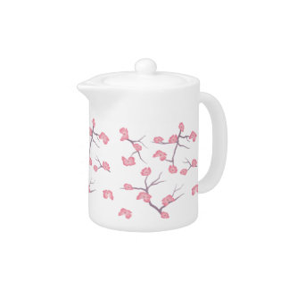 Cherry Blossom Branches Teapot