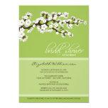 "Cherry Blossom Bridal Shower Invitation (apple) 5"" X 7"" Invitation Card"