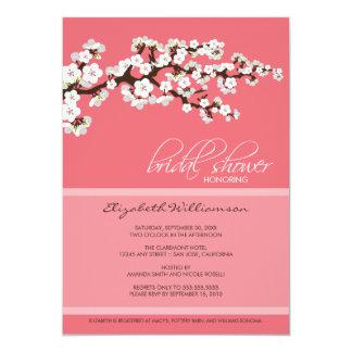 "Cherry Blossom Bridal Shower Invitation (pink) 5"" X 7"" Invitation Card"