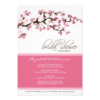 Cherry Blossom Bridal Shower Invitation rose