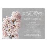 Cherry Blossom Bridal Shower Invitations Custom Invitations