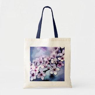 Cherry Blossom Budget Tote Bag