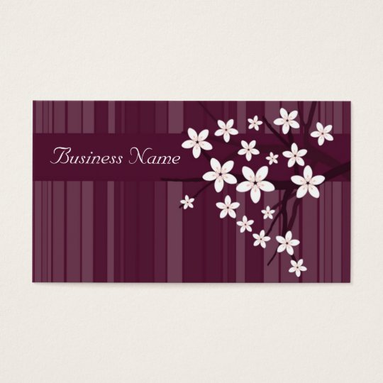 Cherry Blossom Business Card