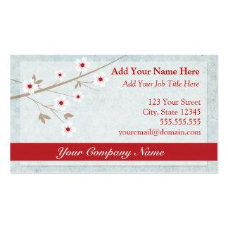 Cherry Blossom Business Card