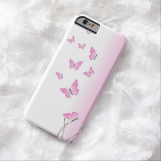 Cherry Blossom Butterflies Barely There iPhone 6 Case