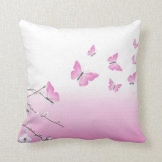 Butterfiles Sakura Pillow