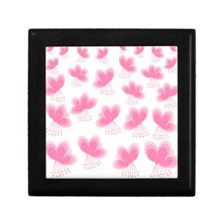 Cherry Blossom Butterfly Pattern Jewelry Box