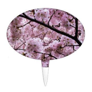 Cherry Blossom Canopy Cake Topper