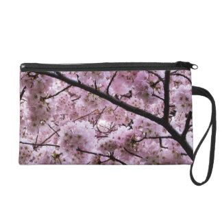 Cherry Blossom Canopy Wristlet Purse