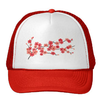 Cherry Blossom Cap Trucker Hat