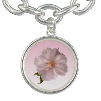 Cherry Blossom Charm Bracelets