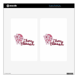 Cherry Blossom Cherry Blossom Decal For Kindle Fire