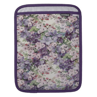 Cherry Blossom & Clematis iPad Sleeves