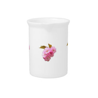 Cherry Blossom Cluster Drink Pitcher