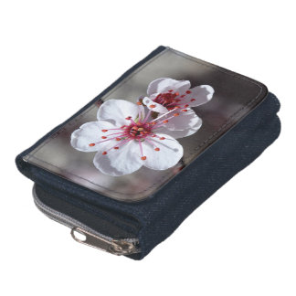Cherry Blossom Denim Wallet with Coin Purse by OBP
