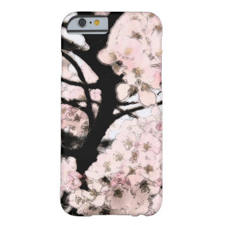 Cherry Blossom Edited Barely There iPhone 6 Case