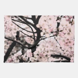 Cherry Blossom Edited Hand Towel
