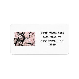 Cherry Blossom Edited Label