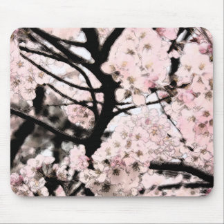Cherry Blossom Edited Mouse Pad