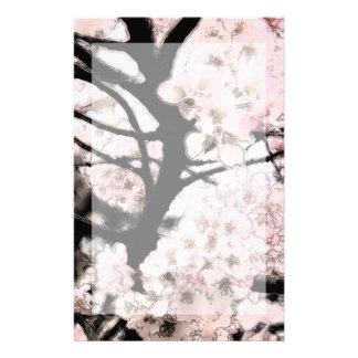 Cherry Blossom Edited Stationery