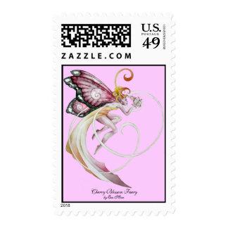 Cherry Blossom Faery Stamp