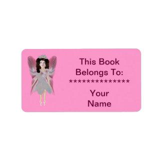 Cherry Blossom Fairy Label