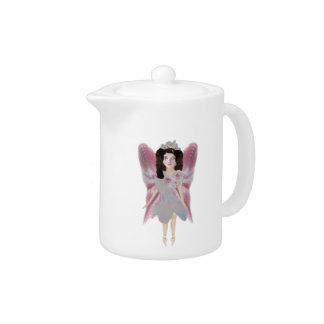 Cherry Blossom Fairy Teapot