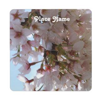 Cherry Blossom Festival Puzzle Coaster