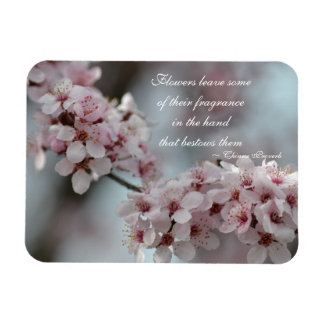 Cherry Blossom Floral Magnet
