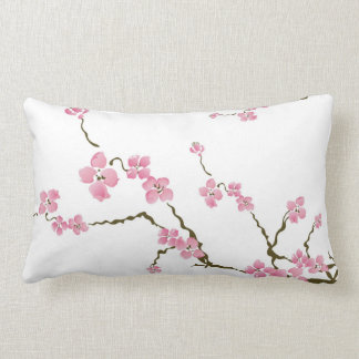 Cherry blossom flowers American MoJo Pillow