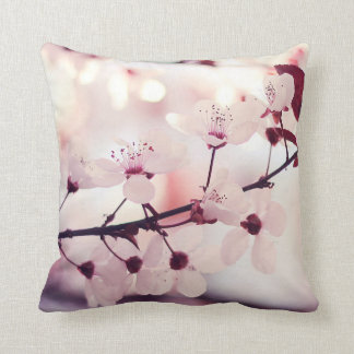 CHERRY BLOSSOM FLOWERS CUSHION
