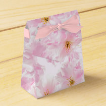 Cherry Blossom flowers Favor Box