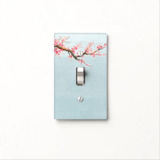 Cherry Blossom Flowers Light Switch Cover