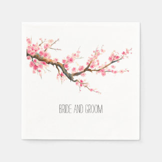 Cherry Blossom Flowers Napkin