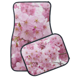 Cherry Blossom Flowers on Car Mats