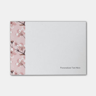 Cherry Blossom Flowers Pattern Post-it Notes